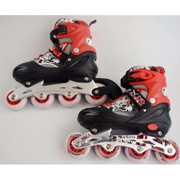 Mua [Lấy mã giảm thêm 30%]Giày trượt patin Long feng 906 trẻ em size S (30-33)