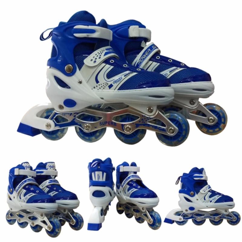 Phân phối Giày trượt Patin phù hợp Size chân từ 38 đến 42 - Màu xanh
