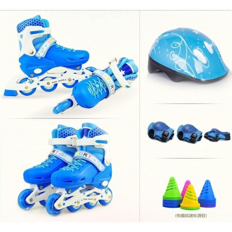 Phân phối Giày trượt Patin Sports Size L cho bạn trên 11 tuổi + Kèm Bảo Hộ