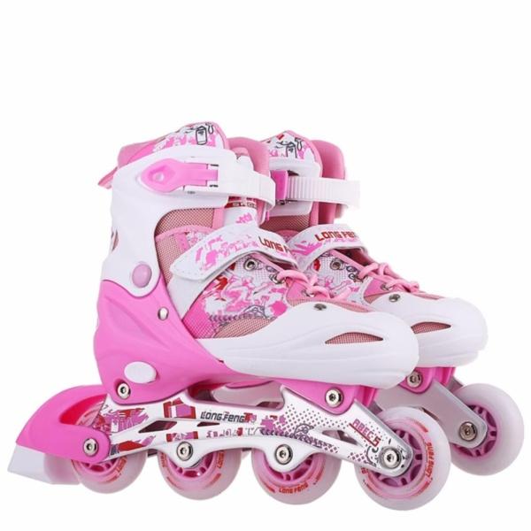 Giá bán Giầy trượt patin trẻ em Long Feng 906 size L-Phù hợp cho trẻ trên 10 tuổi