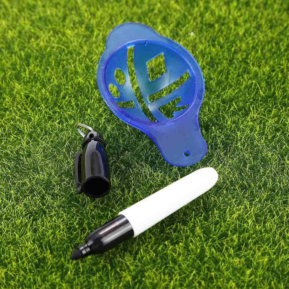 Bóng Golf Dòng Bút Đánh Dấu Bản Mẫu Có Thể Thu Máy Cho Luyện Tập Đánh Golf Đào Tạo-Quốc Tế