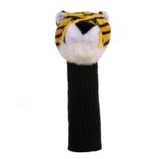 Golf Club Headcover Plush Cute Cartoon Tiger Bar Head Protection Covers - intl