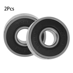 GOOD Ceramic Bearings 608RS Drift Plates Skateboards Bearings Roller Skating 2pcs black - intl