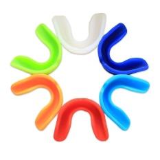Hình ảnh Kẹo cao su Lá Chắn Bảo Vệ Miệng Răng Tấm Bảo Vệ cho Bóng Bầu Dục Quyền Anh Bóng Rổ An Toàn Mềm Mại-quốc tế