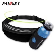 Hình ảnh Haissky Có Thể Cho Vào Bình Nước cho đi Bộ Thể Thao Ốp Lưng Điện thoại Dưới 6 inch (Đen)-quốc tế