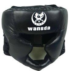 Hình ảnh Headgear Head Guard Training For Boxing Sparring Black - intl