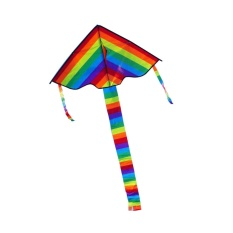 Hình ảnh High Quality Triangle Rainbow Kite Outdoor Fun Sports - intl