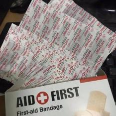 Hình ảnh Hộp 100 băng gạc y tế cá nhân dán vết thương