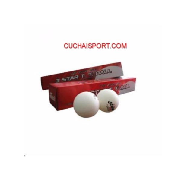Hộp 6 trái banh bóng bàn DHS 3 sao