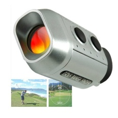 Hình ảnh HOT SALE Digital Golf Range Finder Golf Scope Hunting Range Finder & Bag - intl