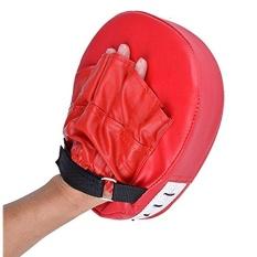Hình ảnh Hot Sales Boxing Mitt Training Target Focus Punch Pad Glove MMA Karate Muay Kick Kit - intl