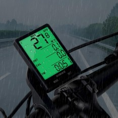 INBIKE Multi-Functional Bike Motorbike Computer LCD Luminous Waterproof Odometer Speedometer - intl