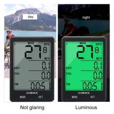 INBIKE Portable Lightweight Waterproof Bike Odometer Mountain Bicycle Speedmeter - intl
