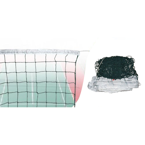 International Match Standard Official Sized Volleyball Net Netting Replacement,Green - intl