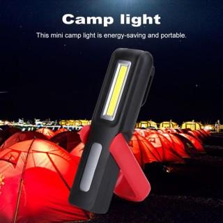 Justgogo Di Động USB Sạc LED COB Đèn Làm Việc Ánh Sáng Ngoài Trời Nam Châm Móc Khóa Đèn Pin-quốc tế thumbnail