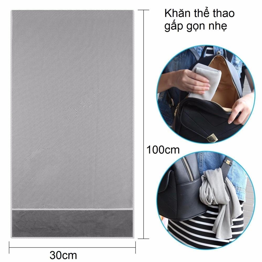 Khăn thể thao, khăn siêu mát, khăn lạnh thể thao gọn nhẹ Cooltime POPO Collection - 5