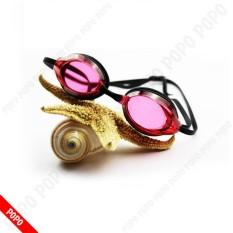 Hình ảnh Kính bơi chuyển nghiệp mắt kính siêu bền, nhỏ gọn G9960 chống tia UV, chống lóa, mắt kính trong suốt kiểu dáng thời trang cao cấp POPO Collection