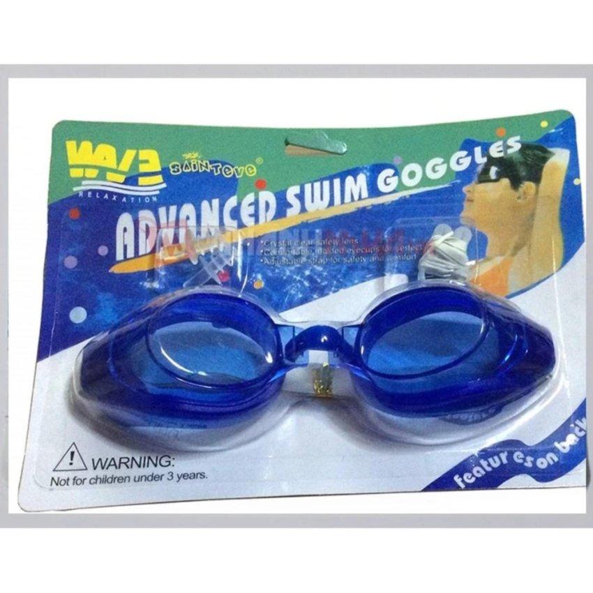 Kính bơi người lớn aquatic -có nút chặn tai-kẹp mũi-GDGS