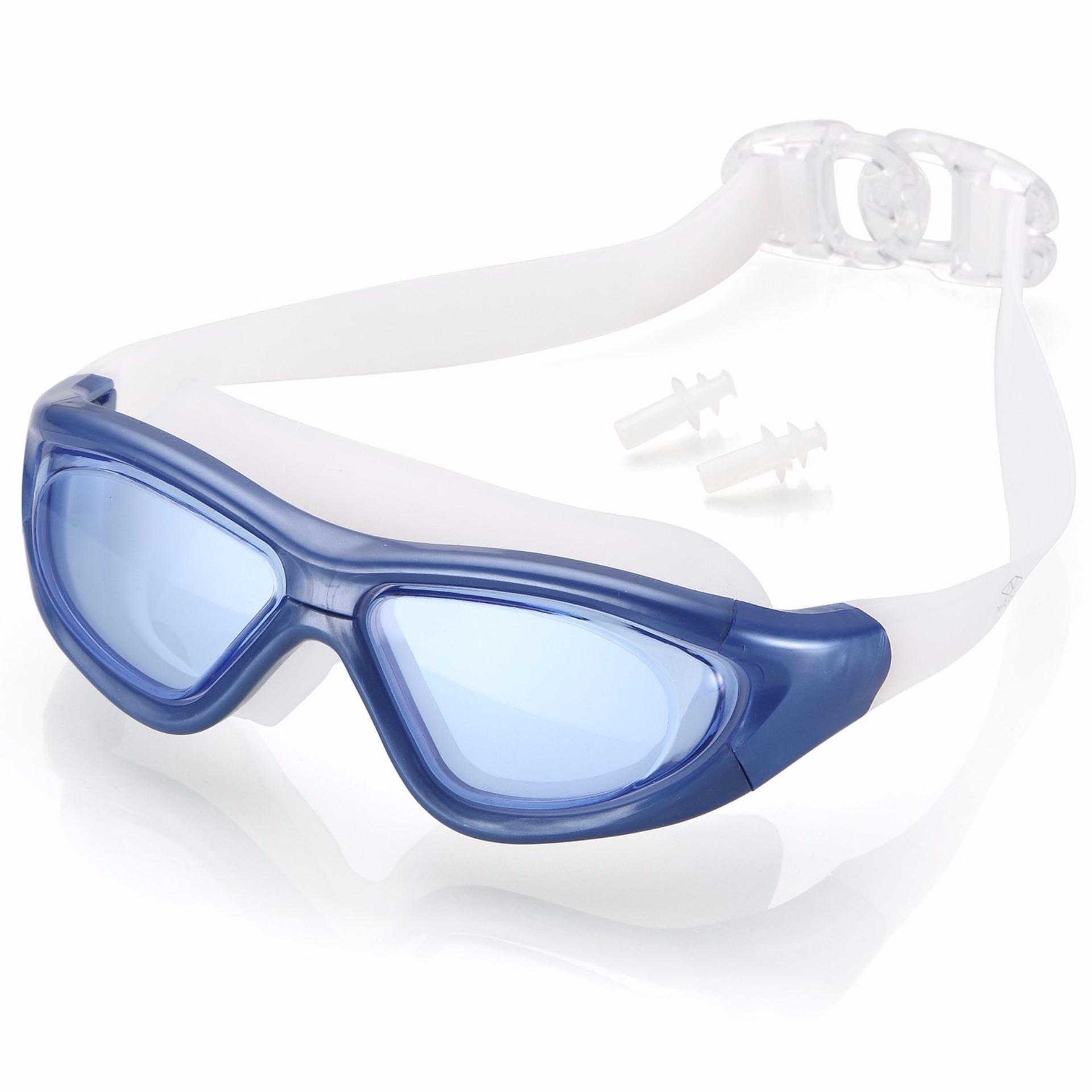 Kính bơi tầm nhìn rộng 180 độ, tráng gương, chống tia UV SPORTY
