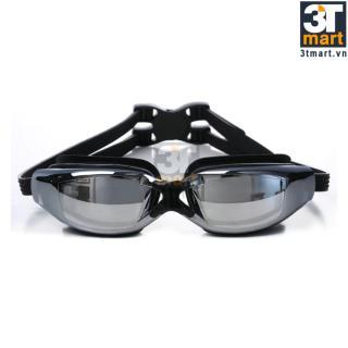 [Lấy mã giảm thêm 30%] Kinh bơi tráng gương chống sương và tia UV CMON SG01D (Đen) thumbnail