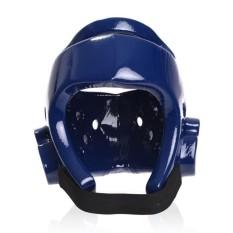 Hình ảnh Kích Thước L Taekwondo mũ bảo hiểm một khuôn đầu bảo vệ Cao Su full Mặt Bảo Vệ Mũ Bảo Hiểm-quốc tế