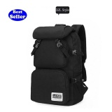 Lan Store New Fashion Japan Designed Large Capacity Detachable Upper Bag Men Women Waterproof Travel Backpack Outdoor Camping Climbing Hiking Backpack Bagpack Sport Back Black 32L Intl Nguyên