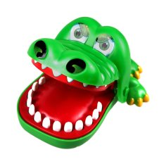 Hình ảnh Cá Sấu lớn Miệng Nha Sĩ Cắn Ngón Tay Trò Chơi Ngộ Nghĩnh Đồ Chơi Quà Tặng-intl