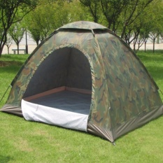 Lều Cắm Trại Vải Dù Màu Lính Cho Phượt Thủ+(tằng Kèm Gối Hơi+bịt Mắt+bịt Tai) Giá Hot Siêu Giảm tại Lazada