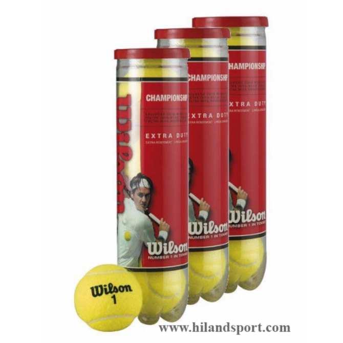 Bảng Giá Bộ 3 Lon bóng tennis 4 quả (Đỏ)