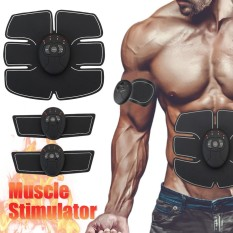 Cửa Hàng Magic Ems Muscle Training Gear Abdominal Abs Fit Body Exercise Stimulator Black Intl Trung Quốc