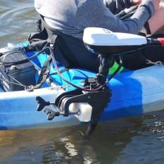 Hình ảnh MagiDeal 2 cái Thép Không Gỉ Bền Bỉ Thuyền Kayak Trolling Điện Chân Đế Gắn Tấm-Gắn Xe Máy Giá Gunwales -quốc tế