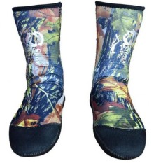Hình ảnh MagiDeal 7mm Neoprene Camouflage Diving Scuba Surfing Snorkel Swimming Socks Size 40 - intl