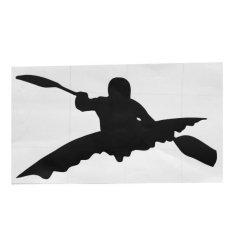 Hình ảnh MagiDeal Thuyền Kayak Mái Chèo Xuồng Xe Dán Decal Chèo Thuyền Kayak Nước Thể Thao Chèo Thuyền Chèo Thuyền-quốc tế