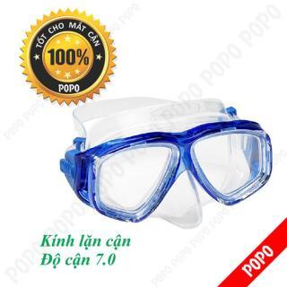 Mặt nạ lặn cận độ cận 7.0 độ, kính lặn cận mắt kính cường lực, ngăn nước tuyệt đối POPO Collection thumbnail