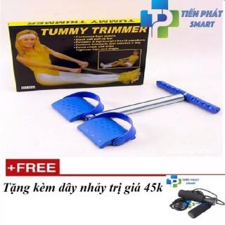 Máy kéo tập cơ bụng tummy trimmer (Free dây nhảy cao cấp) thumbnail