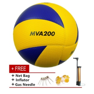 Mikasa MVA 200 Volleyball Soft PU Volley Ball thumbnail