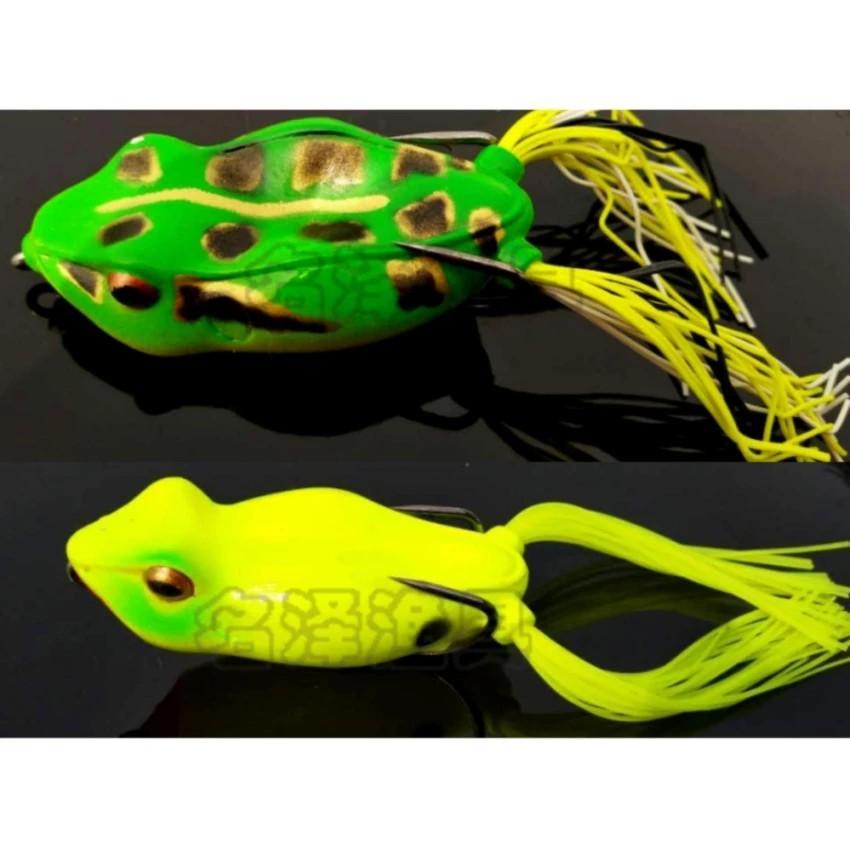 Hình ảnh Mồi giả nhái câu cá lóc cá quả cao cấp 01( giao màu ngẫu nhiên)-GDGS