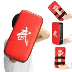 Hình ảnh Muay Thái Karate MMA Taekwondo Boxing Chân Mục Tiêu Tập Trung Đá Đấm Lá Chắn Miếng Lót Đỏ-quốc tế