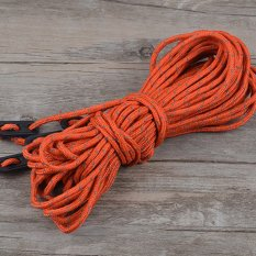 Multifunction Tent Reflective Rope Evening Tent Accessories Orange - intl