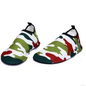 Đánh giá MYLEYO Nonslip Diving Socks Skin Shoes Water Sport Yoga Exercise Beach Swimming Green 3XL - intl ở đâu bán