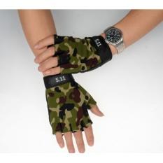 Hình ảnh Găng tay hở ngón thể thao( rằn ri )