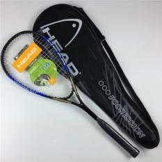 Hình ảnh New Composite Carbon Unisex Squash Racket For Rackets Sport Training Squash Racquet (Blue Black) - intl