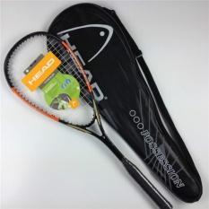 Hình ảnh Composite mới Carbon Unisex Bóng Quần Vợt Dành Cho Vợt Thể Thao Tập Vợt Squash (Cam Đen)-quốc tế