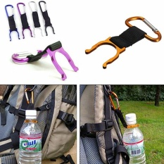 New Hiking Camping Water Bottle Holder Hook Buckle Key Chain Clip Carabiner Snap - intl