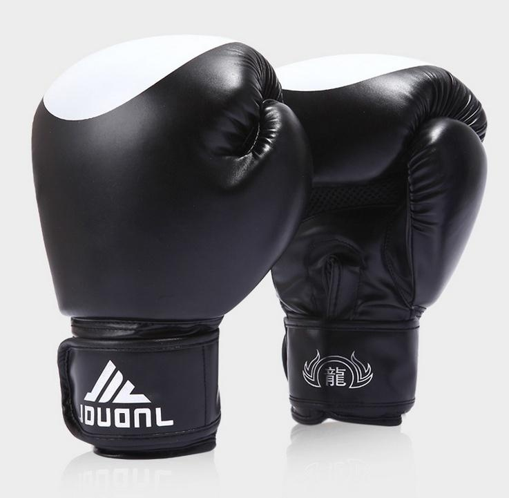 New Pu Fight Mma Boxing Gloves Practice Training Muay Thai Sanda Punching Bag