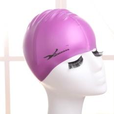 Hình ảnh New Type Swimming Cap Unisex Waterproof Silica Outdoor Sport Swim hat - intl