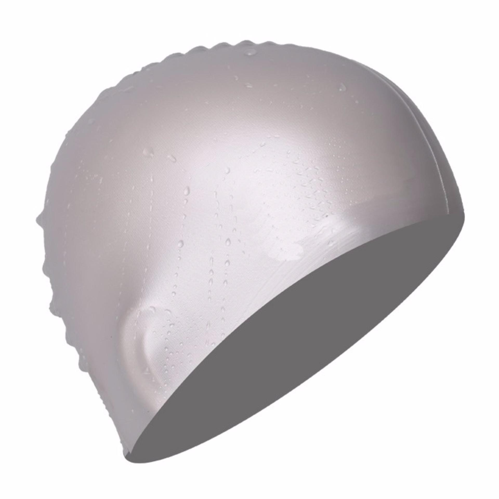 Nón bơi mũ bơi trơn silicone chống thống nước cao cấp CA31 POPO Collection 25