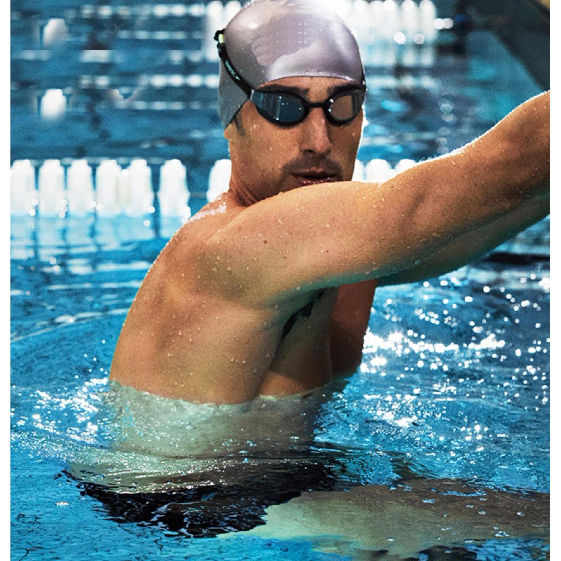 Nón bơi mũ bơi trơn silicone chống thống nước cao cấp CA31 POPO Collection 27