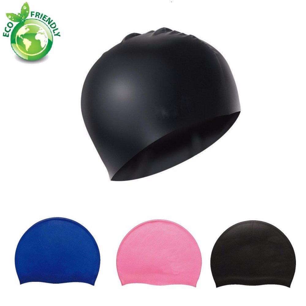 Nón bơi mũ bơi trơn silicone chống thống nước cao cấp CA31 POPO Collection 15