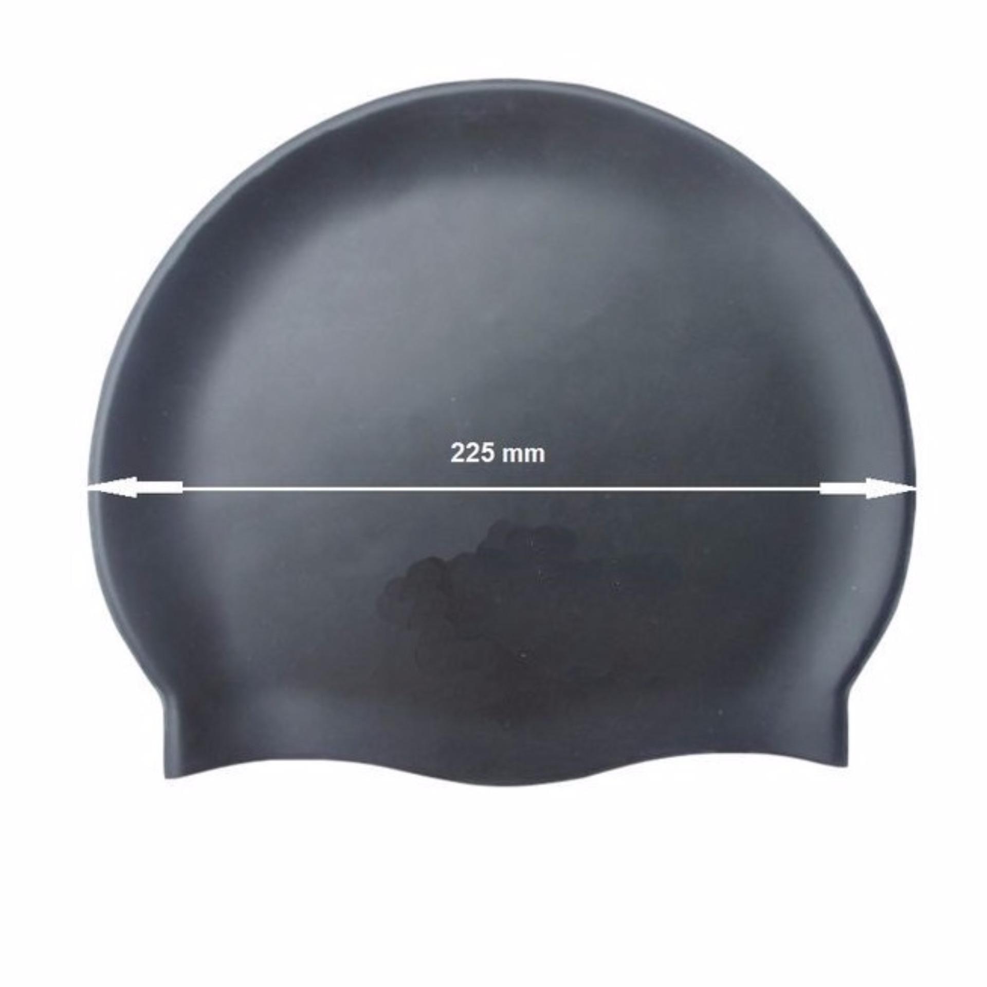 Nón bơi mũ bơi trơn silicone chống thống nước cao cấp CA31 POPO Collection - 3